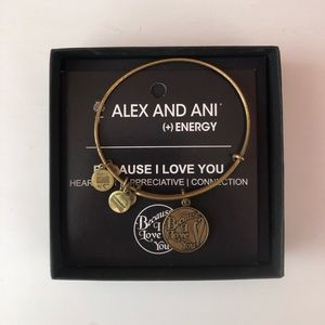 Alex and Ani Because I Love You Bracelet Bangle